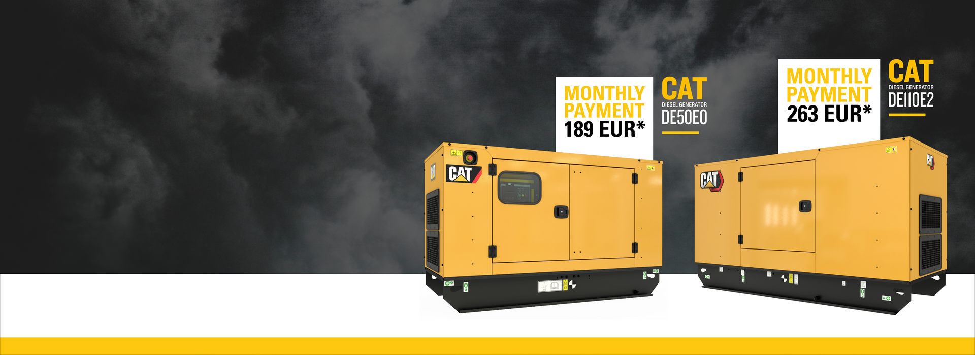 Special offer for cat diesel generators